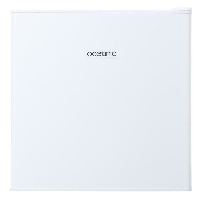 OCEANIC OCEACCF32W - Congélateur table top - 32L - Froid statique - A+ - L 48cm x H 50cm - Blanc