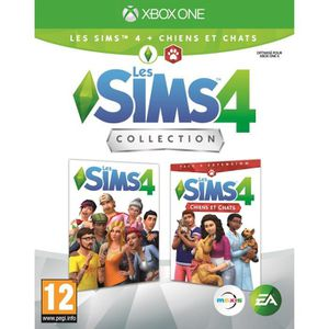 JEU XBOX ONE SIMS 4 Edition Chiens & chats Jeu Xbox One