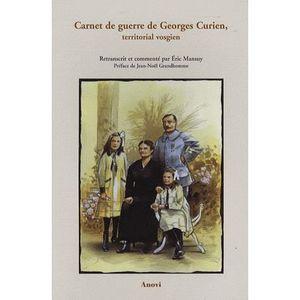 LIVRE SCIENCES Carnet de guerre de Georges Curien, territorial vo