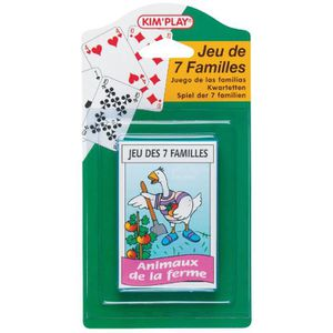 KIMPLAY Jeux des 7 familles