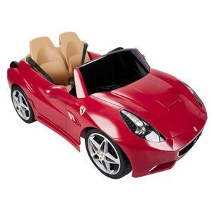 VOITURE ENFANT FEBER - Voiture Ferrari California - Véhicule Elec