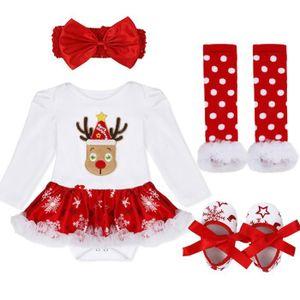 bd23d222e4f48 Ensemble de vêtements Ensemble vêtement Bébé Filles - Tops Noël Costume