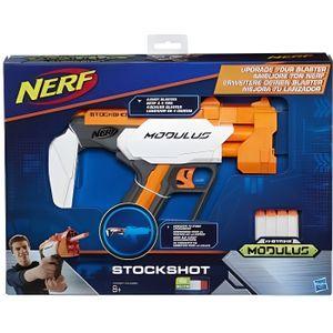 PISTOLET BILLE MOUSSE Nerf N-Strike Modulus Pistolet Stockshot - Hasbro
