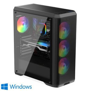 UNITÉ CENTRALE  PC Gamer, Intel i3, RX 580, 480 Go SSD, 2 To HDD,