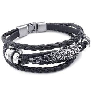 BRACELET - GOURMETTE Bijoux Bracelet - Aile Ange Tresse Manchette - Cui