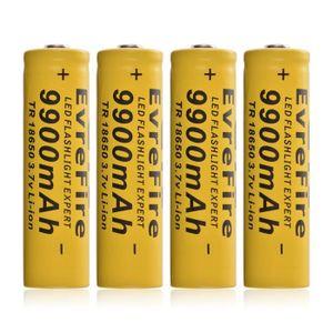 PIÈCE DÉTACHÉE DRONE 4x 18650 9900mAh Li ion 3.7V batterie rechargeable