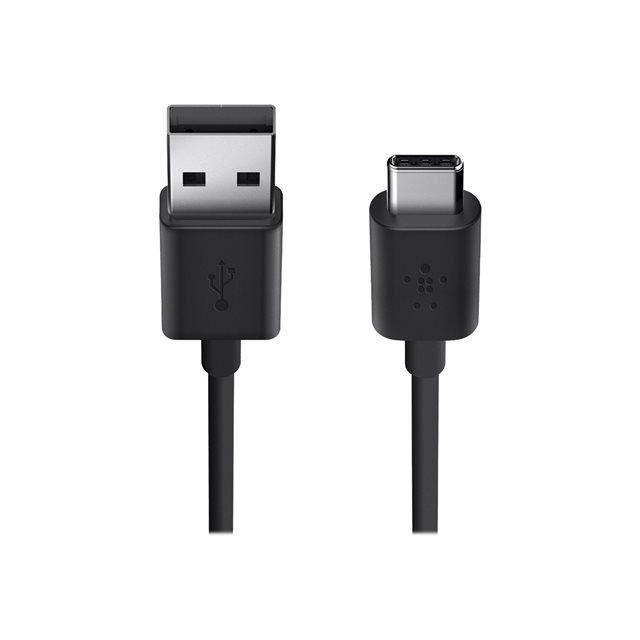 BELKIN Câble de recharge USB-A 2.0 vers USB-C 1.8 m - Noir
