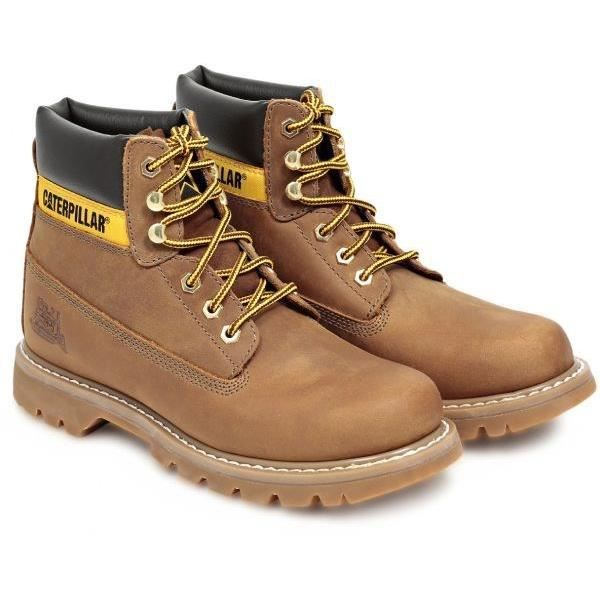 CATERPILLAR Bottines Colorado Chaussures Homme Tan