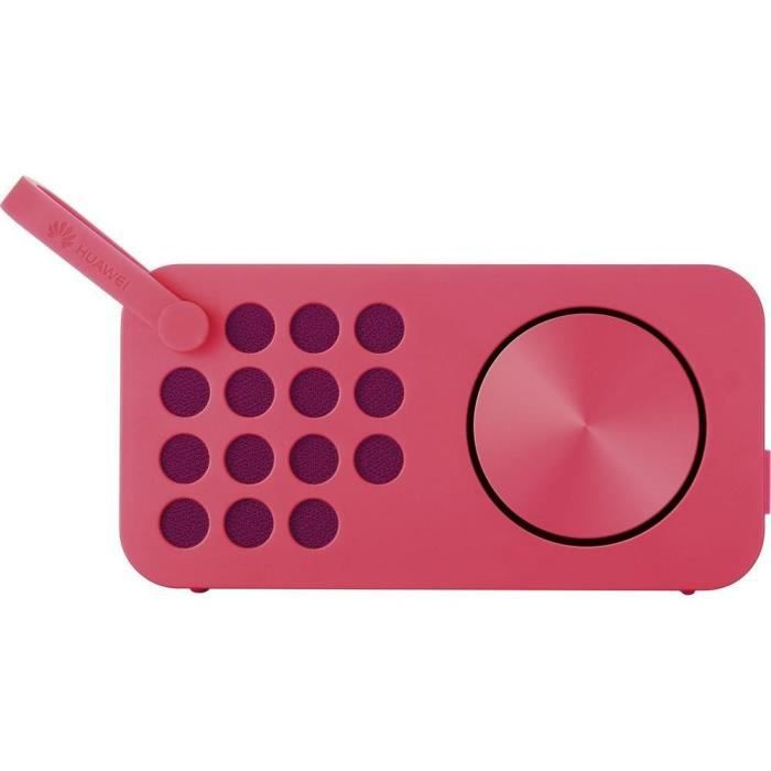 Huawei Enceinte Am09 Bluetooth/Nfc Ml Design Color Radio -RougeENCEINTE NOMADE - HAUT-PARLEUR NOMADE - ENCEINTE PORTABLE - ENCEINTE MOBILE - ENCEINTE BLUETOOTH - HAUT-PARLEUR BLUETOOTH