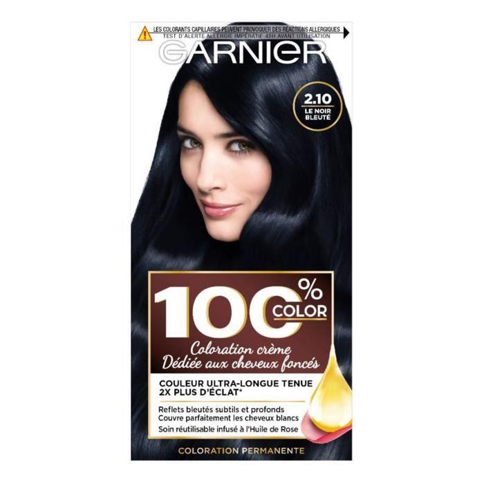 100% Ultra Brun 2.10 Coloration cheveux - Noir bleuté