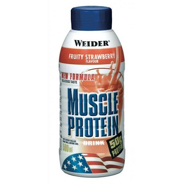 WEIDER Boisson Muscle Protein Vanille 500 ml