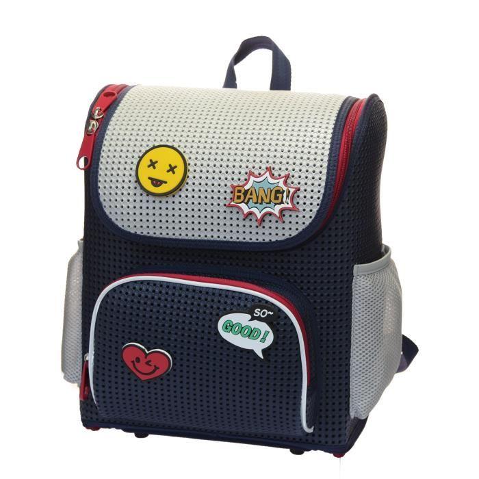 Sac à dos école Fashion Rucksack Voyage avec Ajouter sur Knapsack Emojis Z2TGK