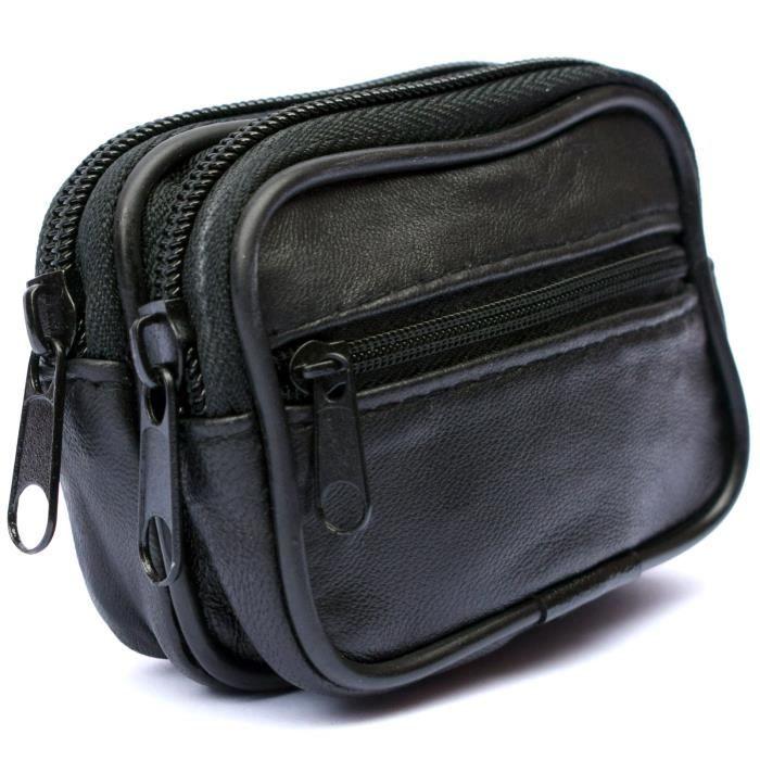 322f70aec5 ORGANISEUR DE SAC Homme Cuir VERITABLE Portefeuille de ceinture – Po