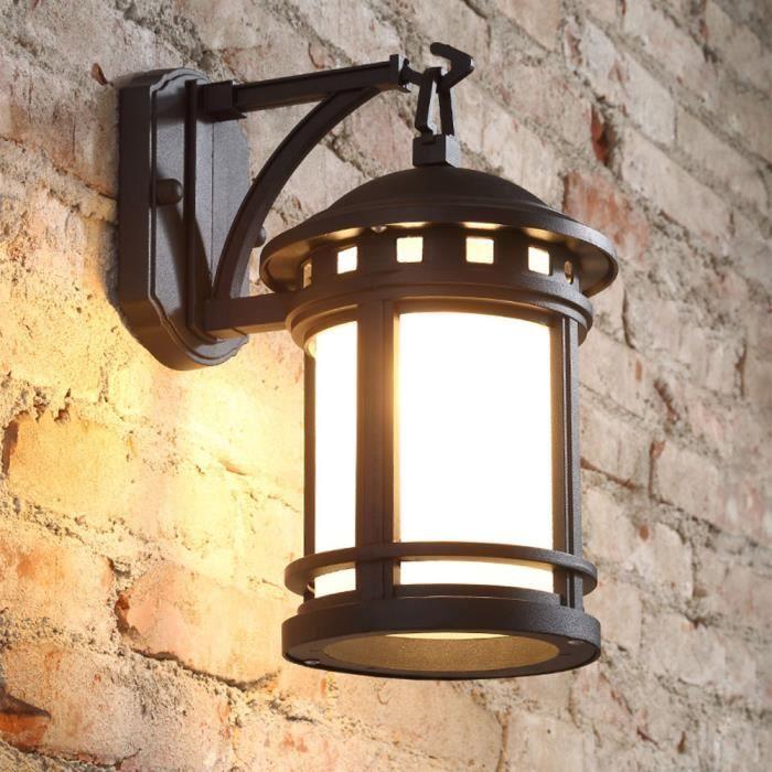 STOEX® Applique Murale Vintage Luminaire Extérieur Lampe ...