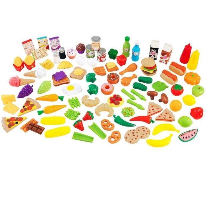 Kidkraft gourmandises d 39 imitation deluxe achat vente Cuisine plastique jouet