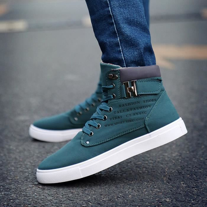 Automne r tro casual Chaussures montantes homme
