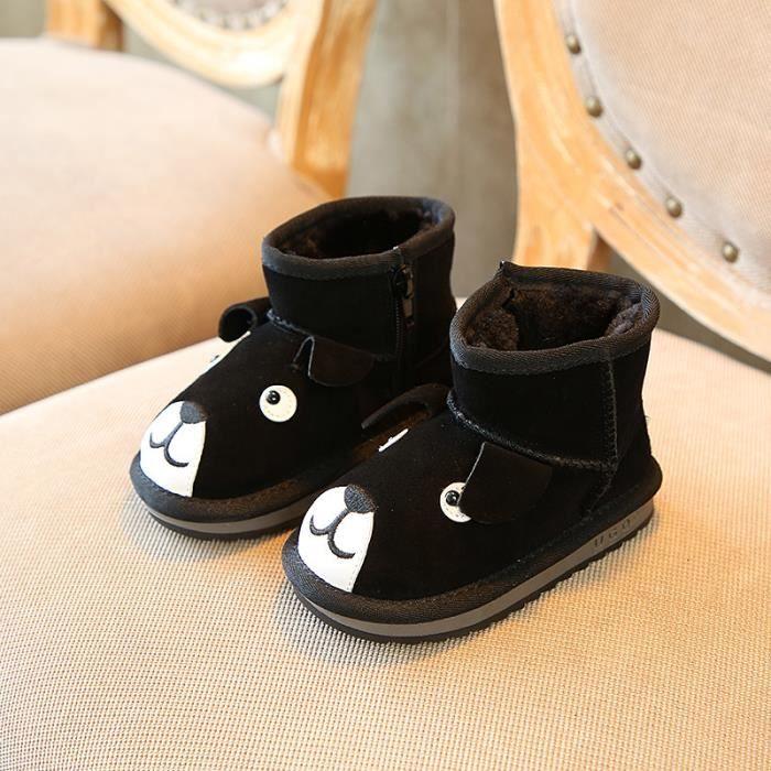 Enfants Chaussures Bottes Bébé Garçon filles Chiot Dessin Bottes de neige 9kMprP
