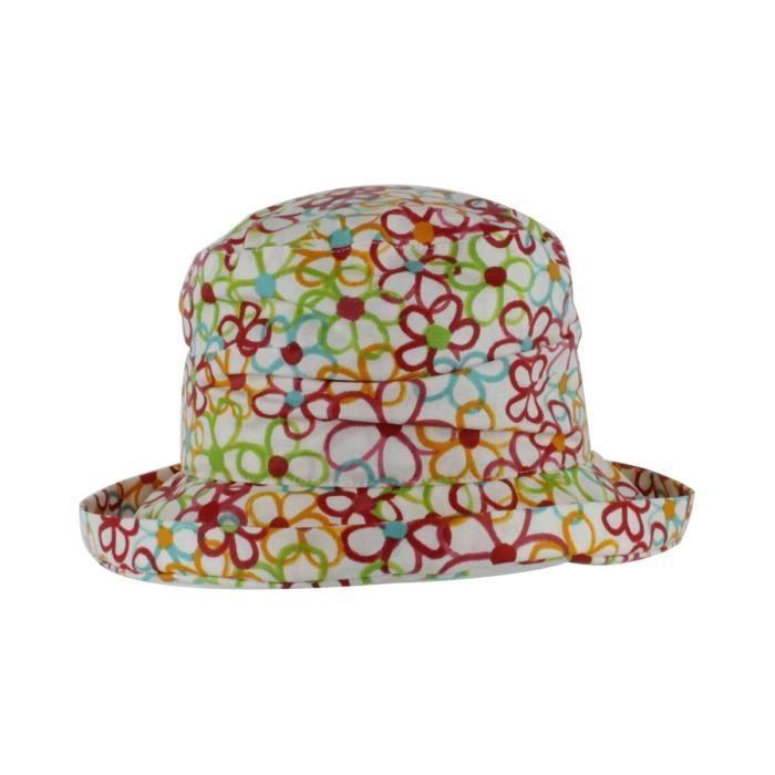 039c3ee49ae8e Chapeau de pluie cloche clola Blanc Blanc - Achat / Vente chapeau ...