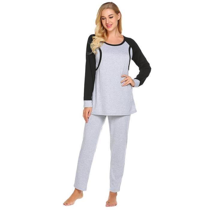 À Manches Pyjama Longues Ensemble Pour Vrac Femmes De En R7wqHI