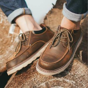 Chaussures Homme Cuir Confortable mode Homme chaussure de ville BJXG-XZ209Marron45 UPpFKYS6