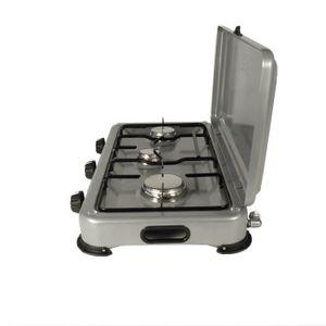 plaque cuisson gaz avec couvercle achat vente pas cher. Black Bedroom Furniture Sets. Home Design Ideas