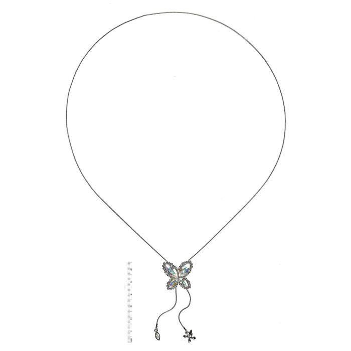 903n9390nf-50 - Collier Femme - Plaqué Rhodium - Cristal Z8P0R