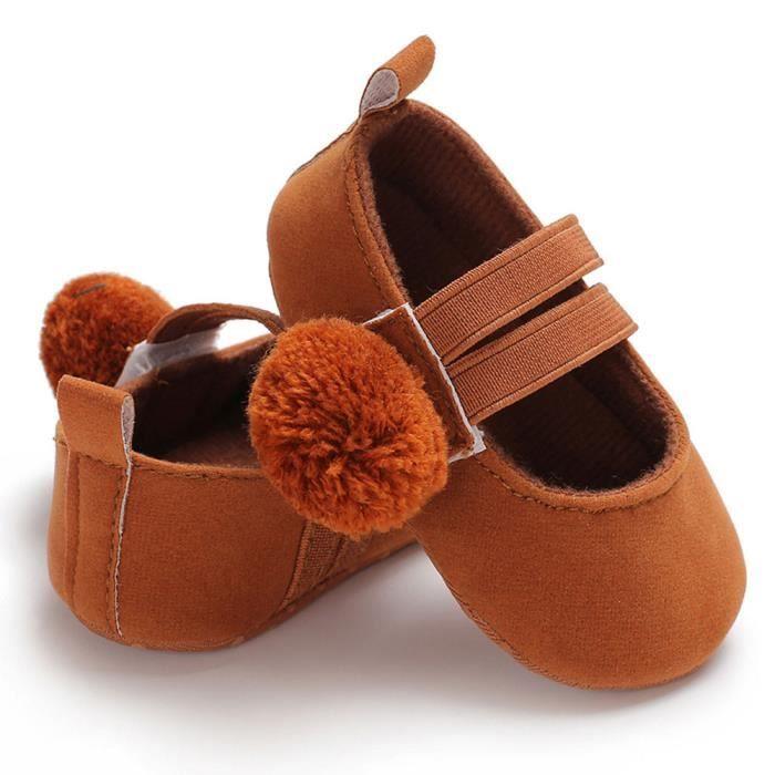 Bb Chaussures Enfants Nouveau Nourrisson Fille Semelle 100marron Douce n Rw Enfant rrx6w8qfC