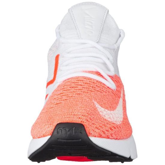 official photos fd0d0 a2cd7 NIKE air max 270 flyknit femme V0D41 Taille-38 1-2 Blanc Blanc - Achat    Vente basket - Cdiscount