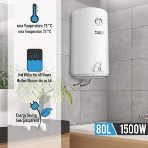 CHAUFFE-EAU Chauffe-eau électrique | Réservoir de 80 litres |