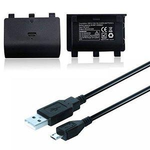 BATTERIE DE CONSOLE 2X 2400mAh Batterie Rechargeable + Câble Charge US