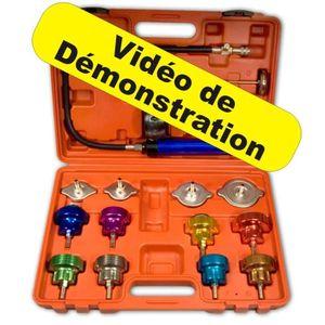 COFFRET OUTILLAGE Kit détecteur de fuite de liquide de refroidisseme