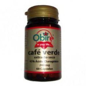 COMPLÉMENT MINCEUR Café Vert 200 Mg. (Ext. Seco) 60 Capsules