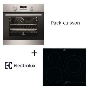 LOT APPAREIL CUISSON Pack Electrolux: EEC2400BOX Four électrique encast