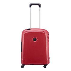 VALISE - BAGAGE Delsey Belfort 3 Slim 4 Wiel Cabin Trolley 55 red