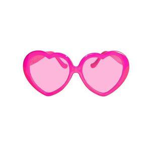 Coeur rose Lunettes - Achat   Vente accessoire déguisement - Cdiscount 749d6f9a7175