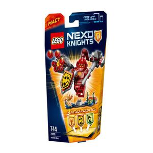 ASSEMBLAGE CONSTRUCTION LEGO® Nexo Knights 70331 Macy L'Ultime Chevalier