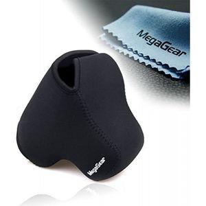 COQUE - HOUSSE - ÉTUI Housse de protection en néoprène noir avec mousque
