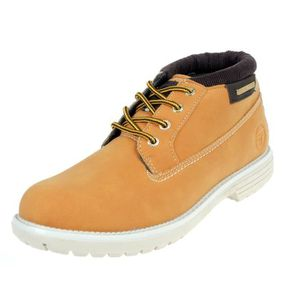 DERBY Chaussures mid mi montantes Pila mid  tanyellow