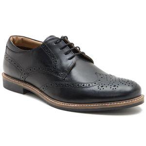 DERBY Red Tape Men's Backford Black Formal Shoe