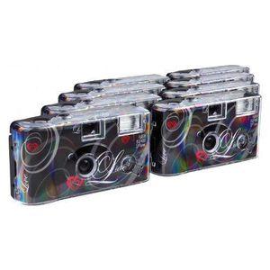 APPAREIL PHOTO JETABLE TopShot Lot de 8 appareils photo jetables pour 27