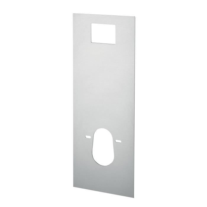 WIRQUIN Façade alu taupe pour Bati WC Smart Lineo
