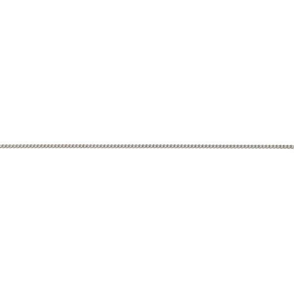 Chaîne maille gourmette Argent 925 - 55 cm unique Multicolore