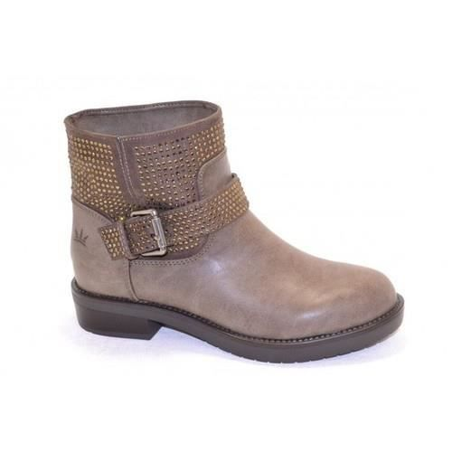 Marron Boots Femme Chaussures Italienne Vente Fango Achat 7yfb6g