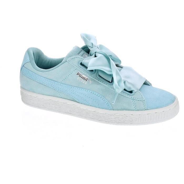 puma femme chaussures bleu