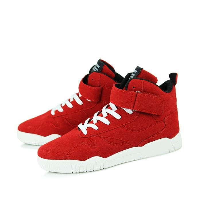 Montantes Skate Mode Homme Chaussure Rouge Shoes Chaussures Basket zwqdpXzf