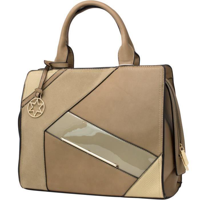 Bella Star Sac fourre-tout mode sac à main dames Femme sac à main pour les femmes TIV19