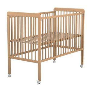 lit bebe blanc laque achat vente lit bebe blanc laque pas cher cdiscount. Black Bedroom Furniture Sets. Home Design Ideas
