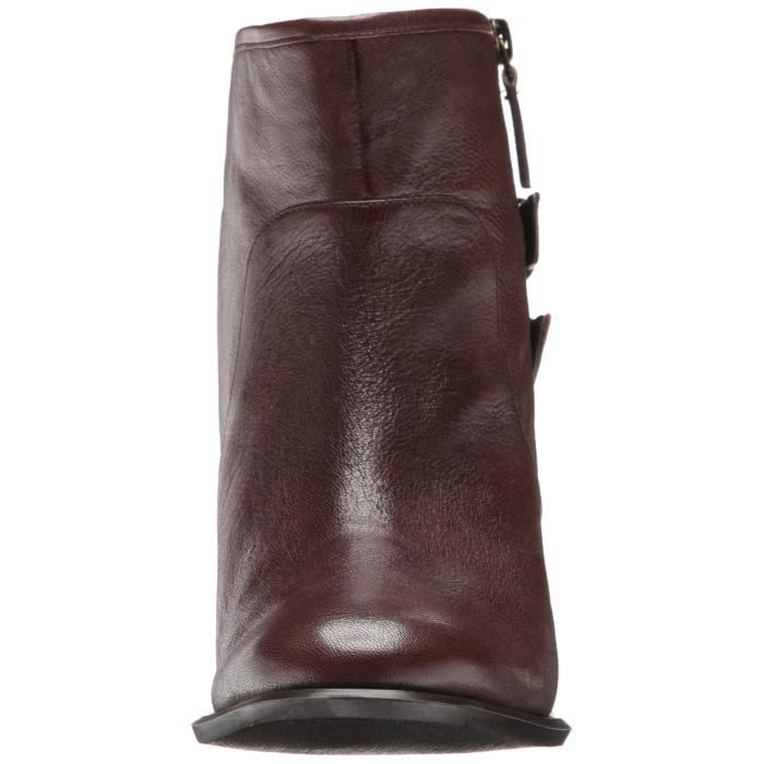 Nine West Justthis Leather Boot HDYU5 Taille-41 1-2