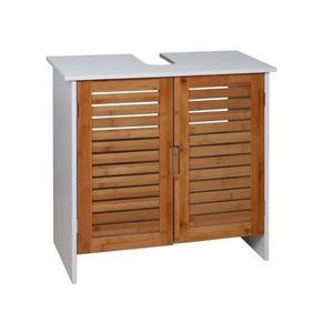 Meuble sous lavabo achat vente meuble sous lavabo pas for Meuble sous vasque bois 60 cm