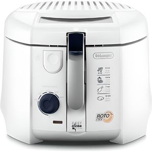 FRITEUSE ELECTRIQUE DELONGHI F28311.W1 ROTOFRITEUSE BLANC